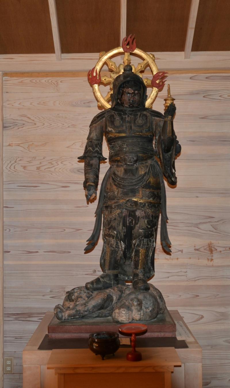 長楽寺 (ちょうらくじ)薬師如来座像他 鳥取日野町 | 静地巡礼
